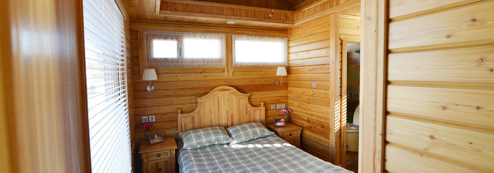 木屋卧室展示