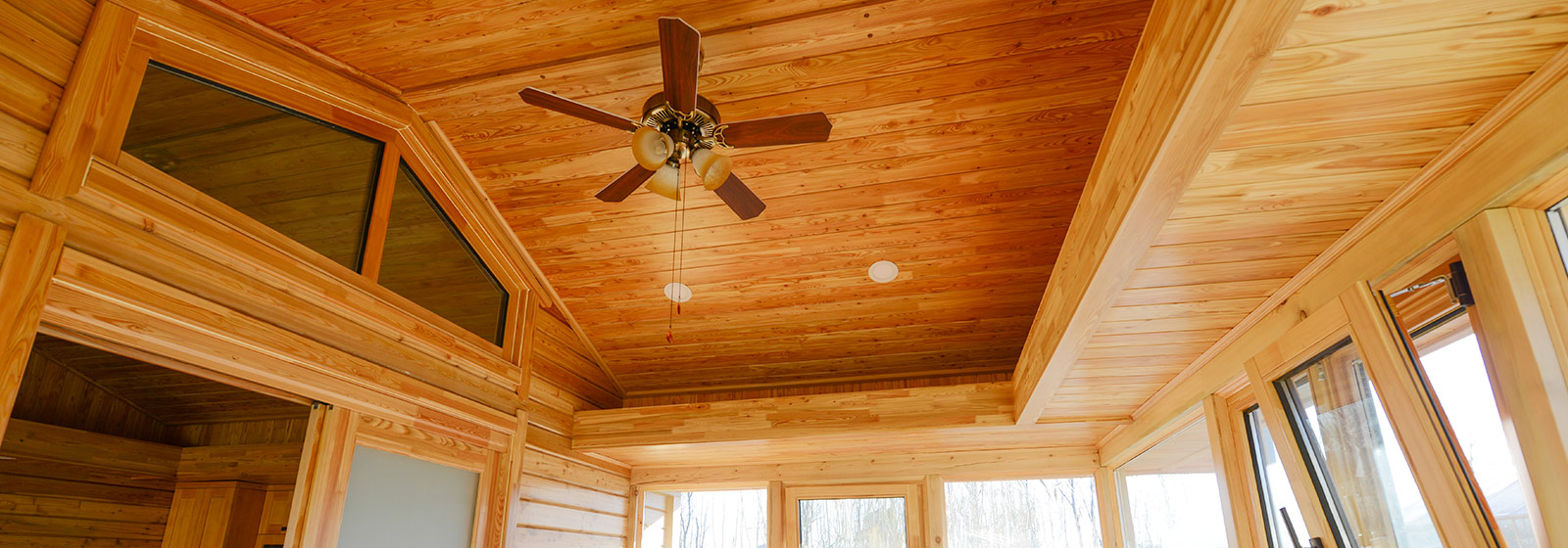 木屋吊顶展示