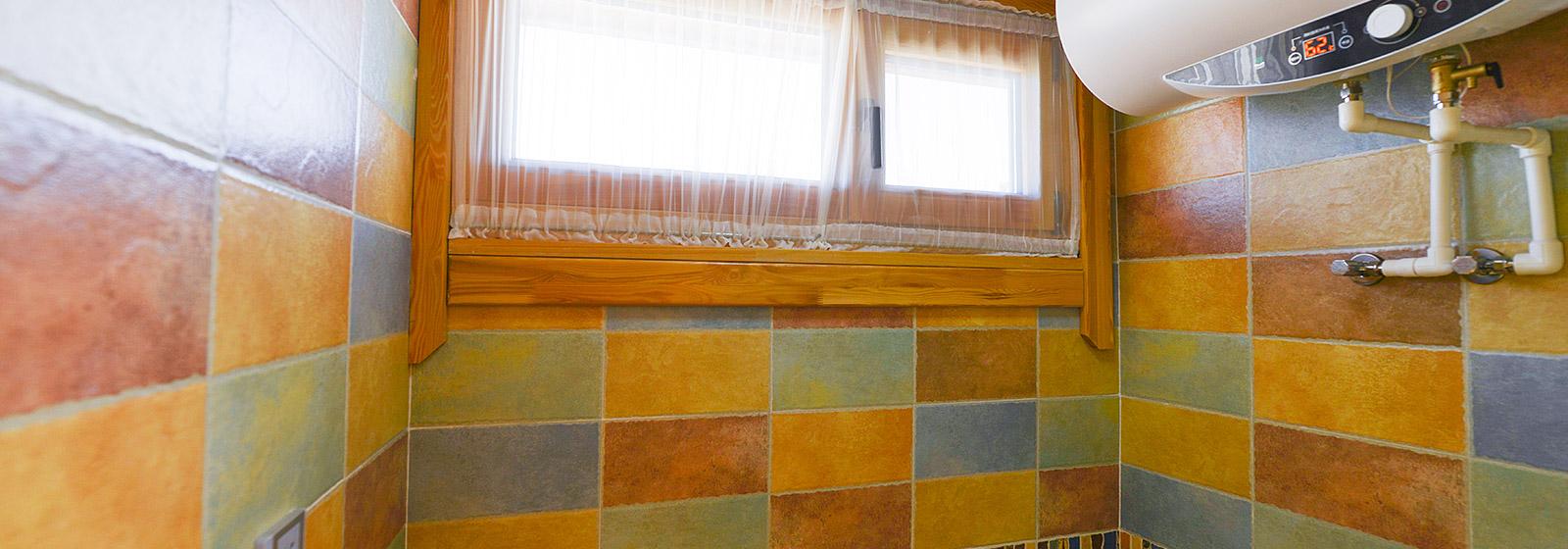 木屋浴室展示