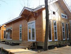 轻型木别墅Q-03BS