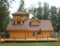 轻型木别墅Q-21BS